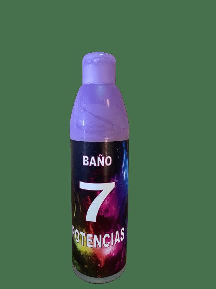 BAÑO JABONOSO 7 POTENCIAS