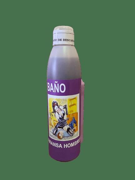 BAÑO JABONOSO AMANSA HOMBRES