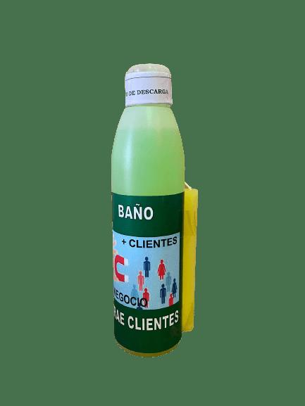 BAÑO JABONOSO ATRAE CLIENTES