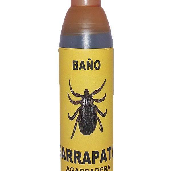 BAÑO JABONOSO GARRAPATA