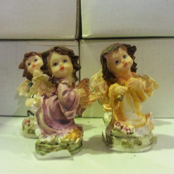 ANGELITOS DE RESINA