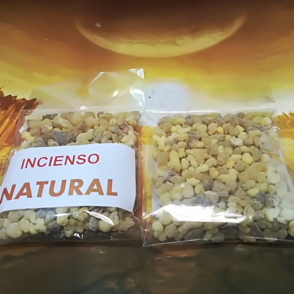 INCIENSO NATURAL EN GRANO 35g APROX