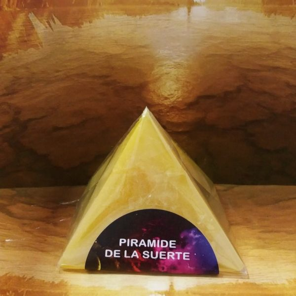 PIRAMIDE DE LA SUERTE AMARILLO