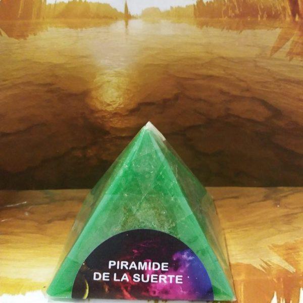 PIRAMIDE DE LA SUERTE VERDE