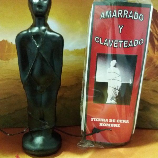 RITUAL AMARRADO Y CLAVETEADO NEGRO