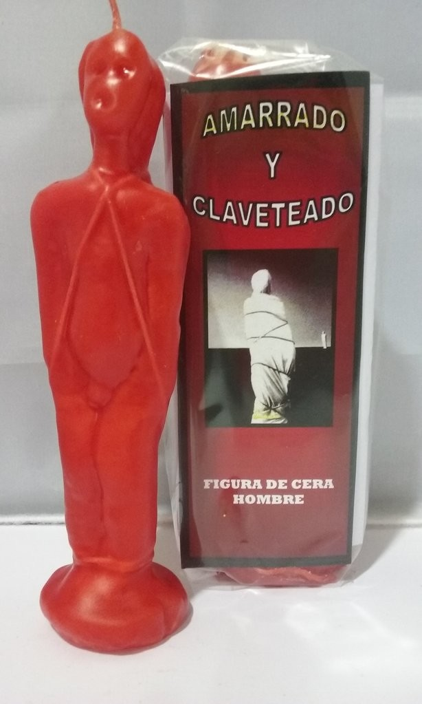 RITUAL AMARRADO Y CLAVETEADO ROJO
