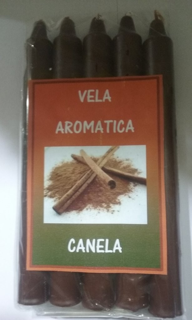 VELA AROMATICA CANELA