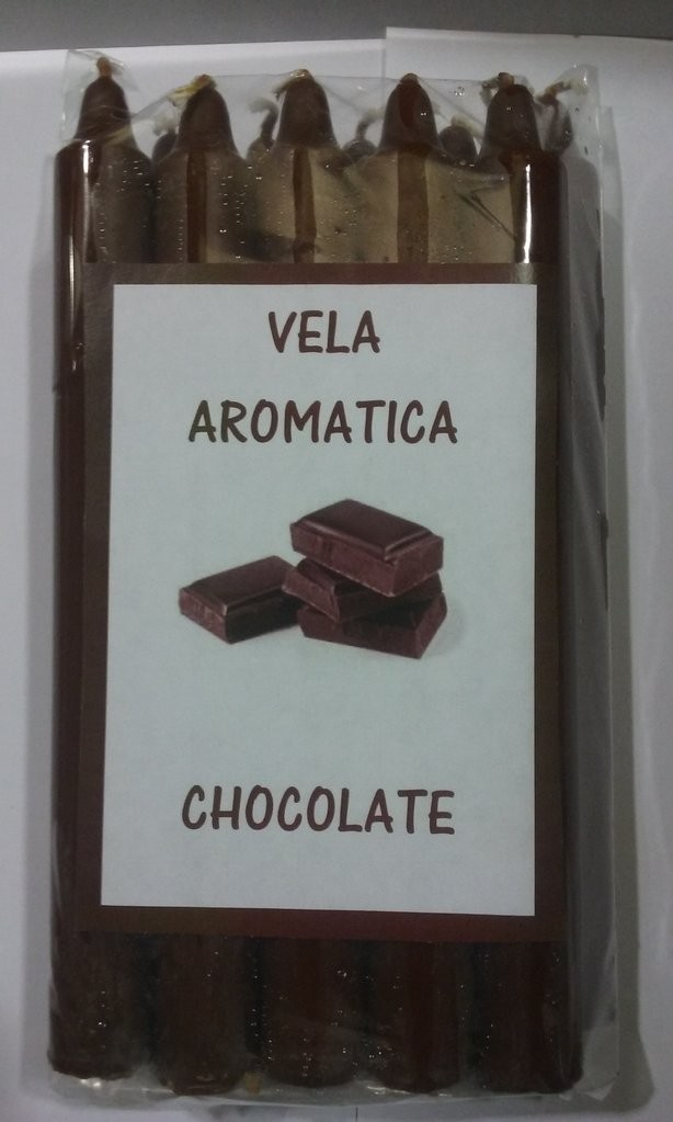 VELA AROMATICA DE CHOCOLATE