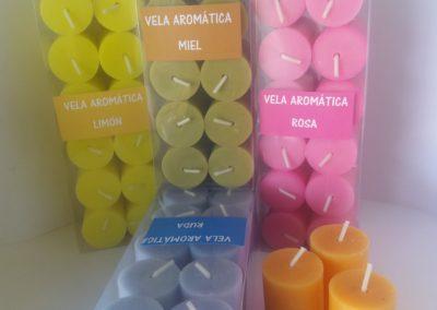 velas votivas perfumadas
