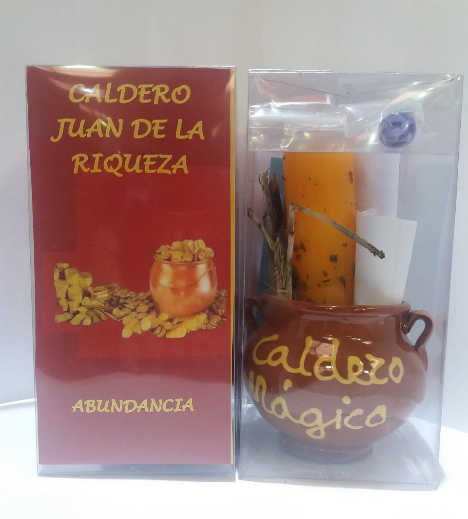 RITUAL CALDERO DE LA RIQUEZA