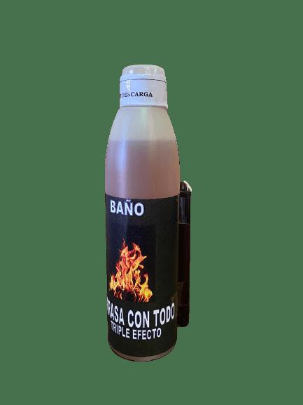 BAÑO JABONOSO ARRASA CON TODO